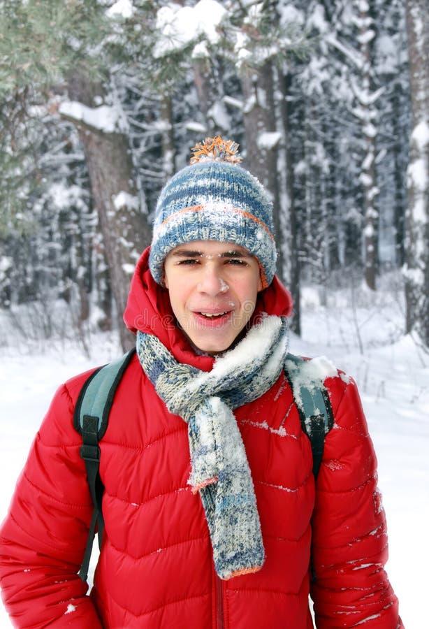 Wow στιγμή Πτώση από μια χιονιά δέντρων στοκ φωτογραφία με δικαίωμα ελεύθερης χρήσης