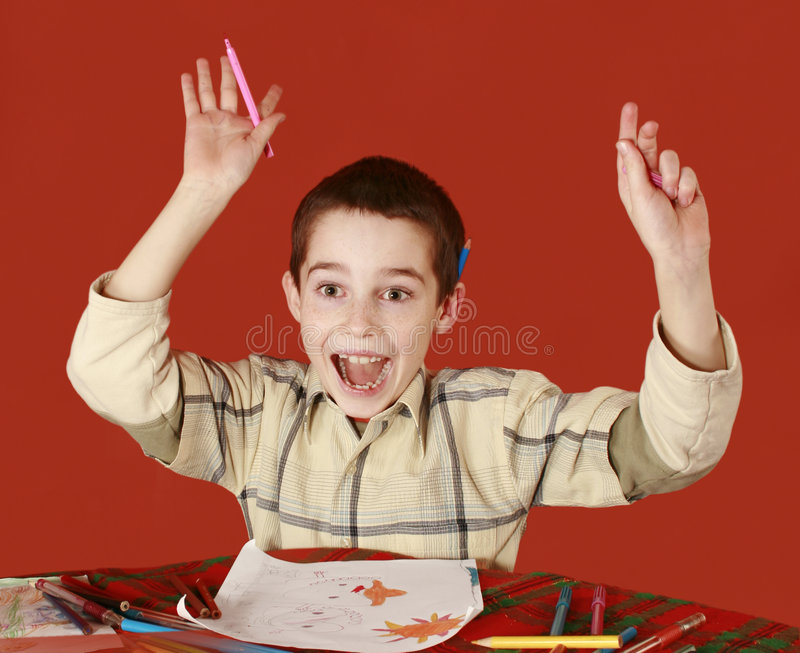 Download Wow stock image. Image of imaginations, hand, child, inferring - 8022207