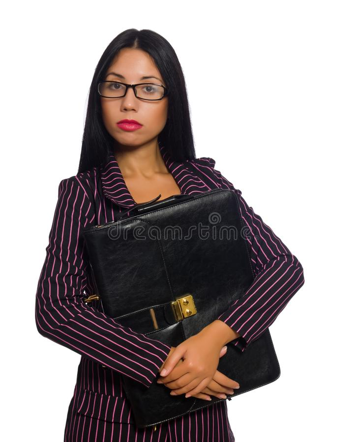 Woman businesswoman concept isolated white background royalty free stock image