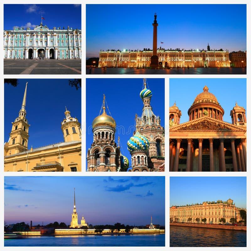 Wrażenia święty Petersburg obraz royalty free