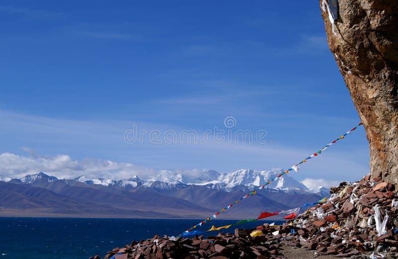 wrażenia Tibet obraz royalty free