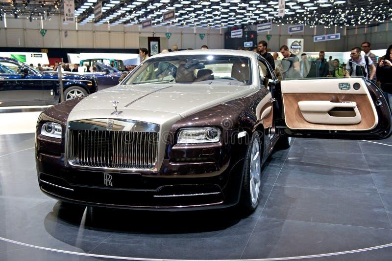 Wraith 2014 de Rolls Royce imagem de stock royalty free