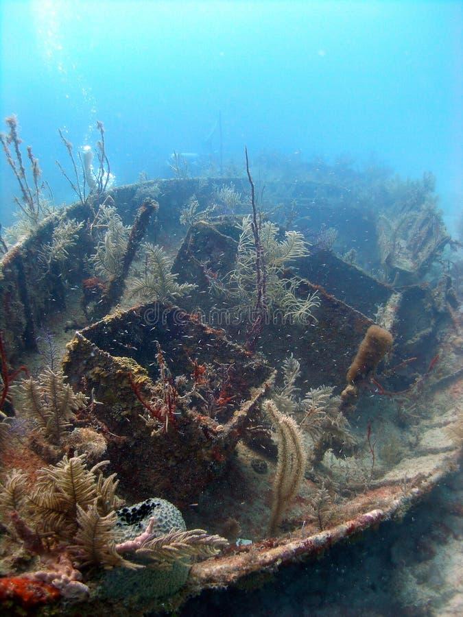 Wrak van een schip royalty-vrije stock fotografie
