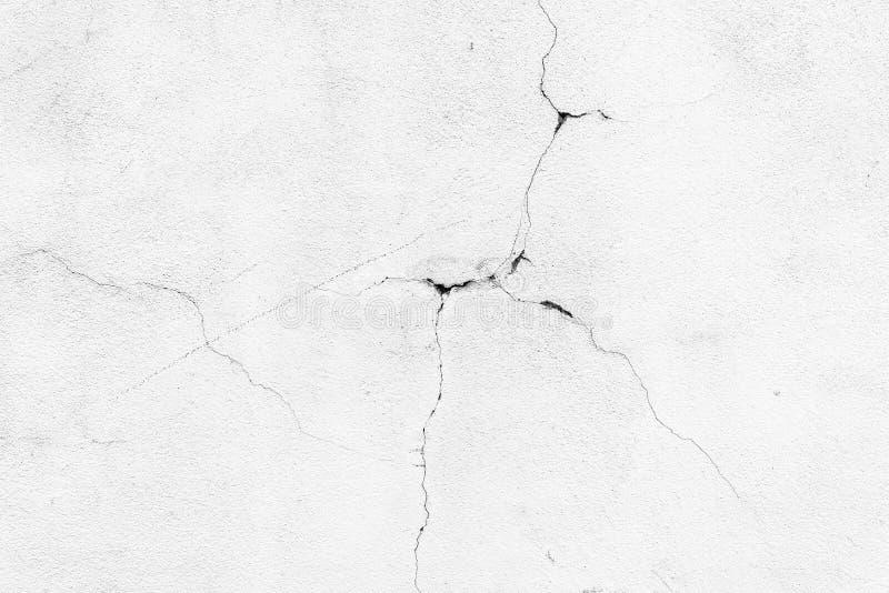 Wraku bielu ściana zdjęcia stock