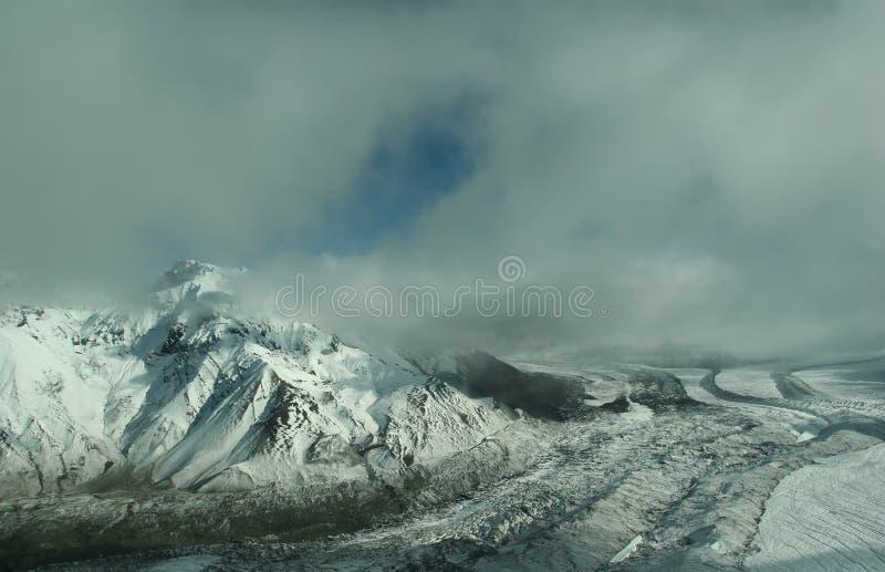Wrangell-Rue. Stationnement national d'Elias images libres de droits