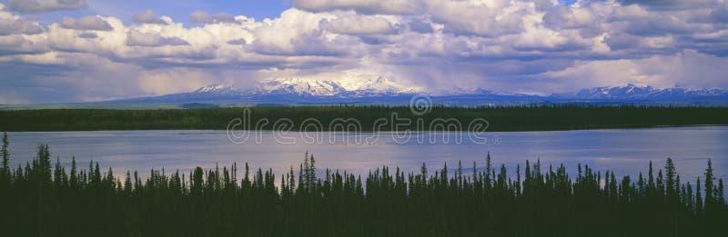 Wrangell-St. Часть Elias национальная, стоковое фото