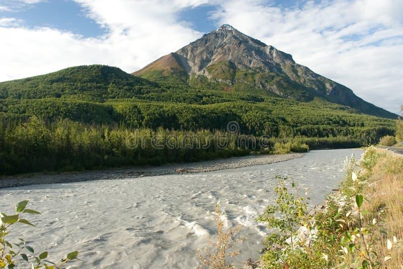 Wrangell-St. Elias royalty-vrije stock afbeelding