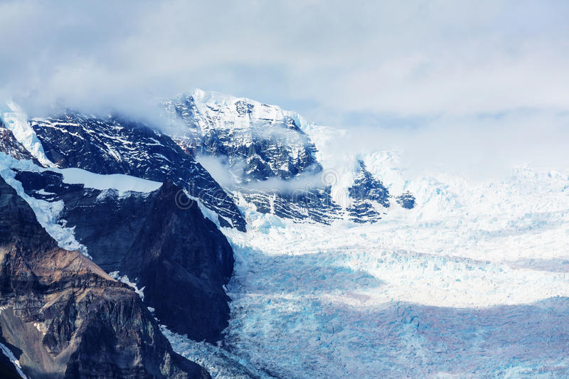 Wrangell-St.Elias NP stock images