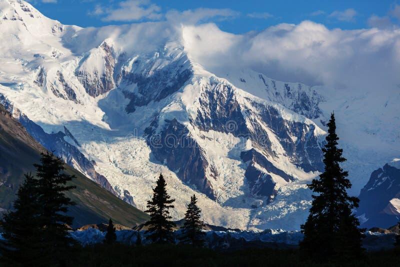 Wrangell-StElias NP, Αλάσκα στοκ εικόνες