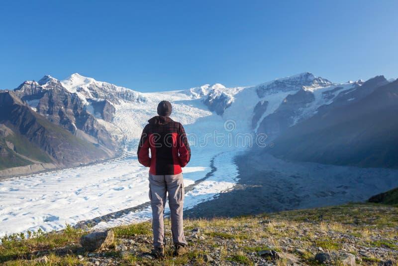 Wrangell-StElias NP στοκ φωτογραφία με δικαίωμα ελεύθερης χρήσης