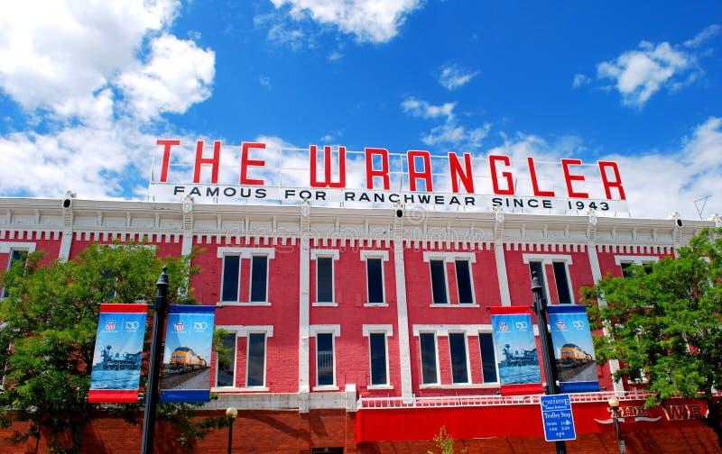 Wrangler obraz royalty free