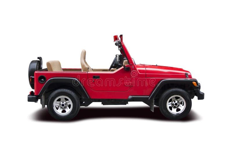 Wrangler della jeep del pompiere fotografie stock libere da diritti