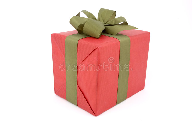 Wrapped Christmas Present/Gift royalty free stock images