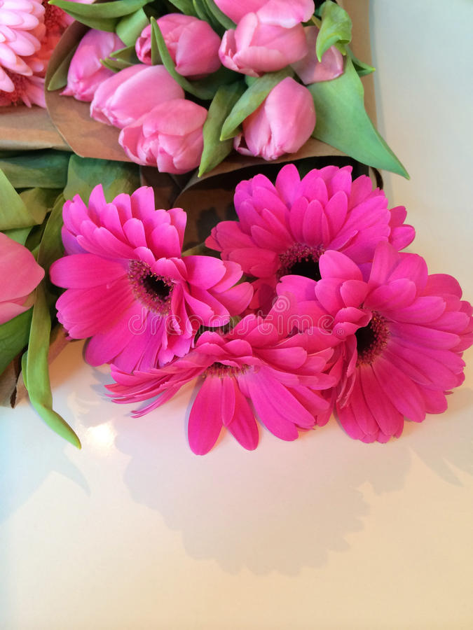 Wrapped flower bouquets stock image. Image of beautiful - 48499801