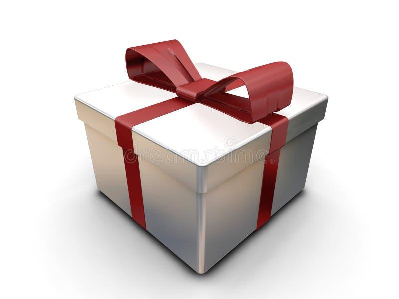 Download Wrapped gift stock illustration. Illustration of render - 1197168
