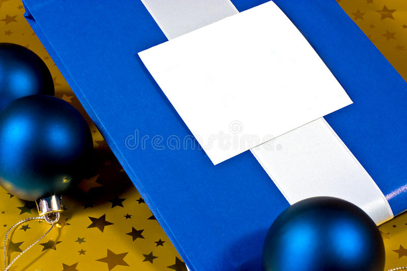 Download Wrapped Christmas gift stock photo. Image of christmas - 25204258
