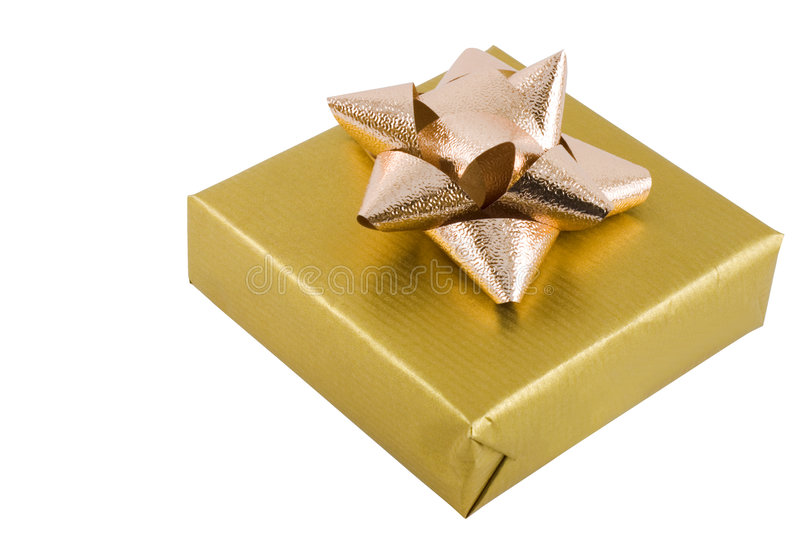 Wrapped Gift stock photo