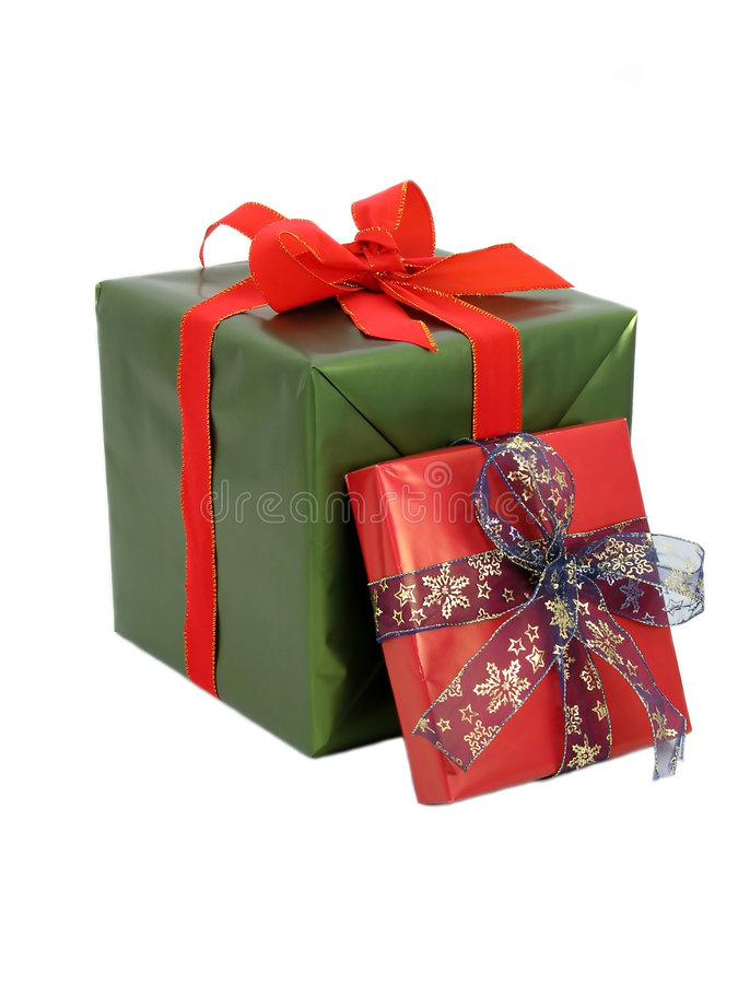 Wrapped Gifts Stock Image