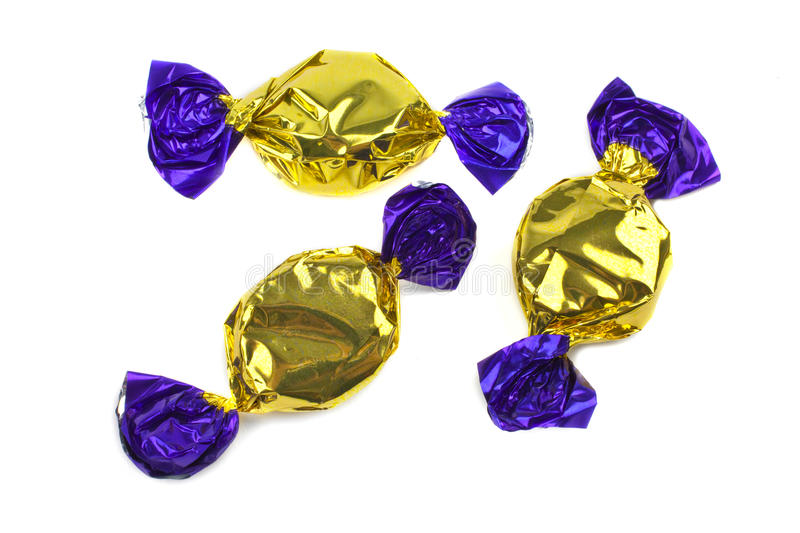 Wrapped Sweets stock photography