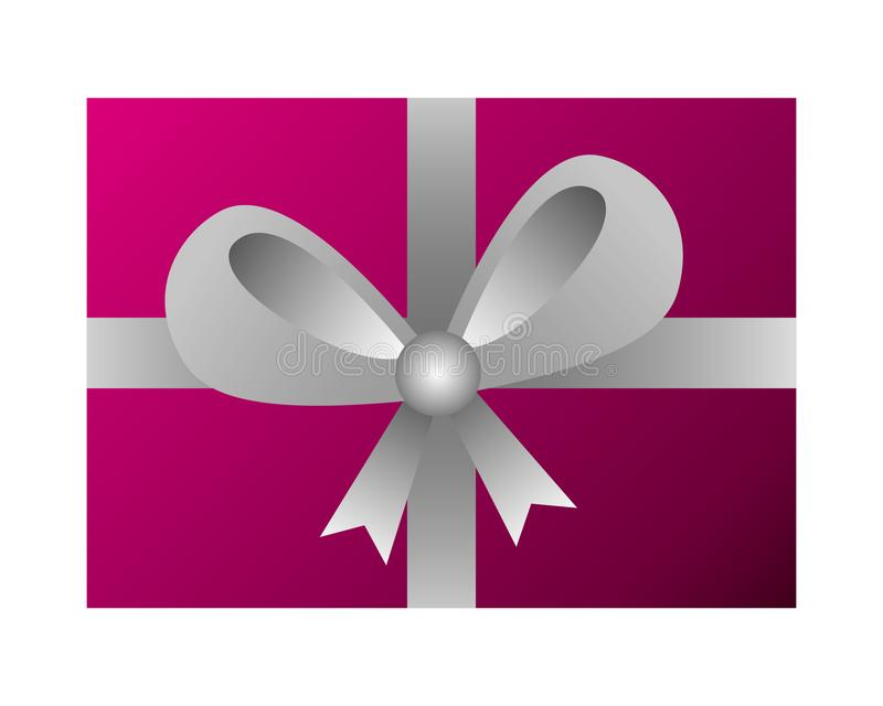 Wrapper gift box surprise on white background vector illustration