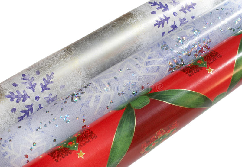 Download Wrapping paper rolls stock photo. Image of wrap, green - 21366628