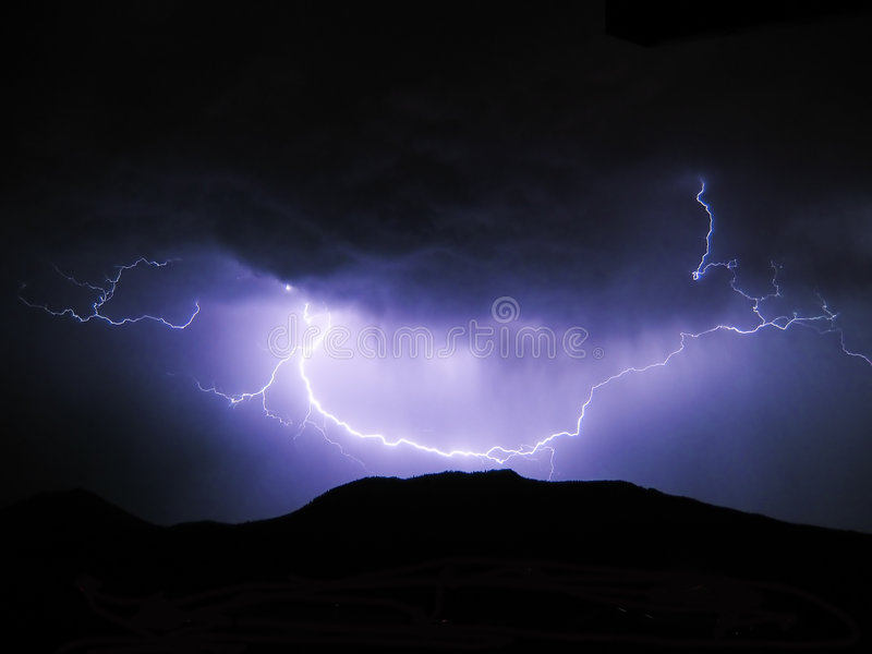 Wrath of Night royalty free stock images