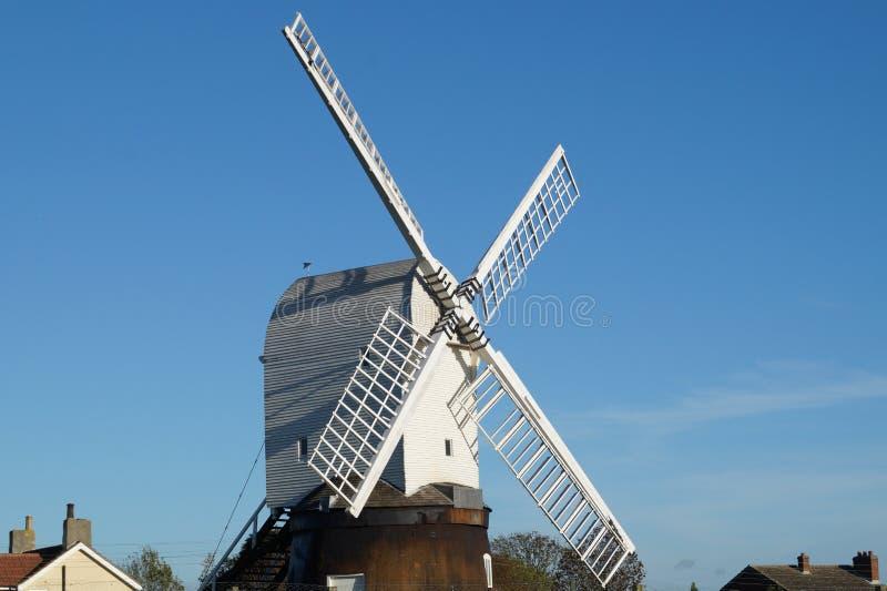 Wrawby Windmill royalty free stock photos