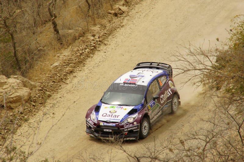 WRC συνάθροιση Guanajuato Μεξικό 2013 στοκ εικόνα με δικαίωμα ελεύθερης χρήσης