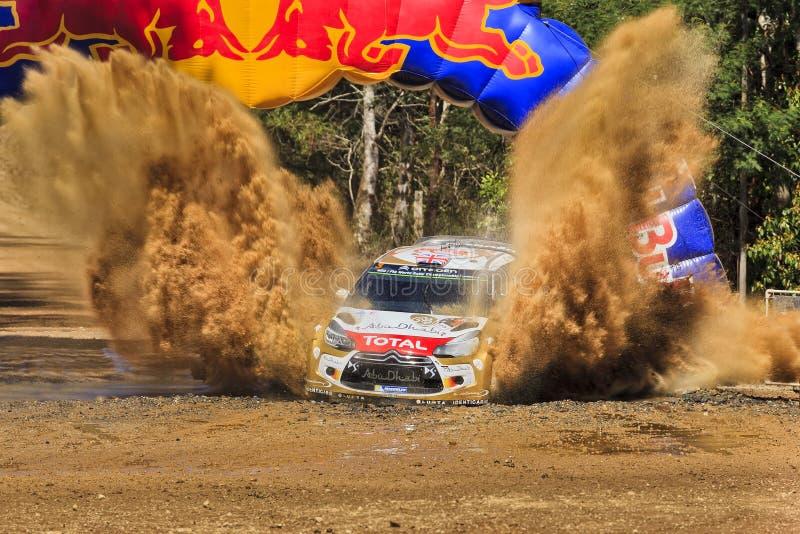 WRC Citroen Front Mud Splash stockfotos
