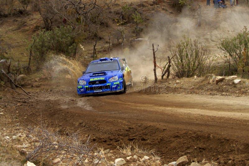 WRC CORONA RALLY MEXICO 2005 stock images
