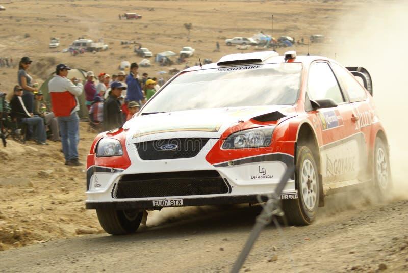 WRC Corona Rally Mexico royalty free stock photo