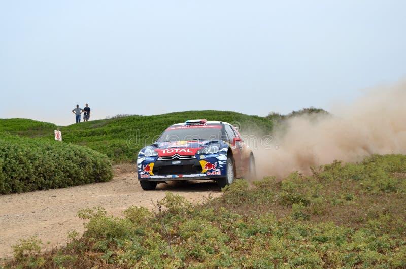 WRC Italia Sardegna zdjęcia royalty free