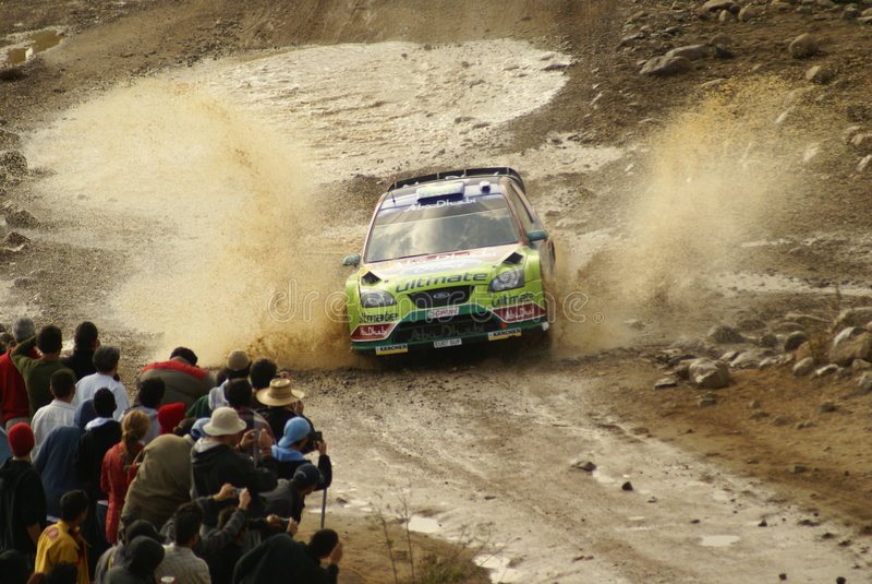 WRC Korona-Sammlung Mexiko stockfotos