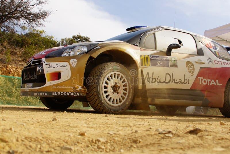 WRC samlar Guanajuato Mexico 2013 arkivbild