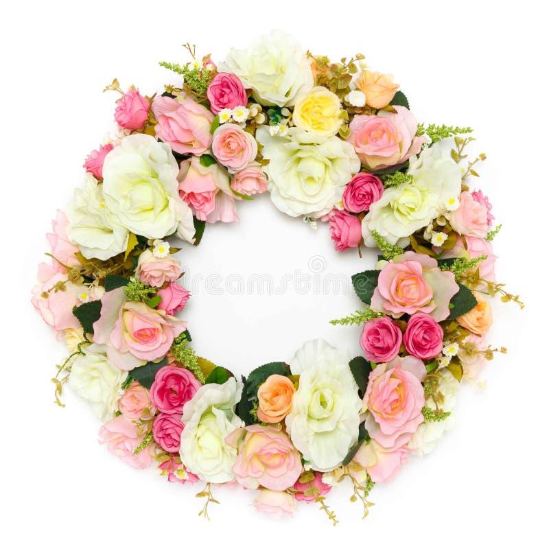 Wreath of Flower stock photo