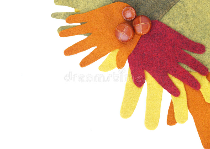 Wreath Of Hands Royalty Free Stock Image