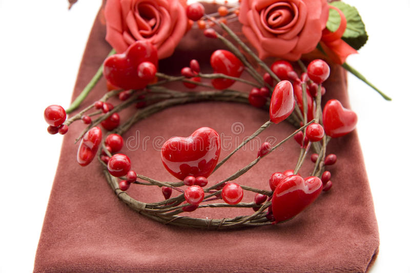 Wreath from heart