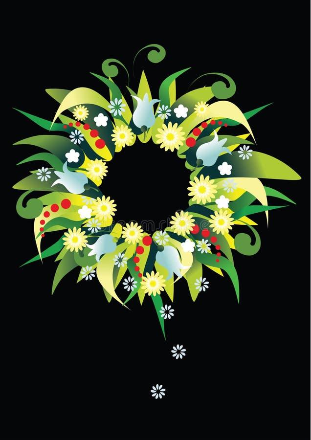 Wreathfeiertag vektor abbildung