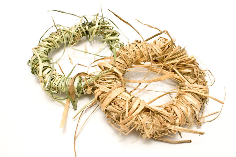 Download Wreaths made of straw stock image. Image of hang, tradition - 20397447