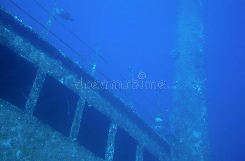 Download Wreck stock photo. Image of underwater, blue, sink, ship - 11798780