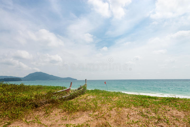 Download Wreck Of Old Abandoned Wooden Boats Stock Photo - Image of sand, desolate: 85262278