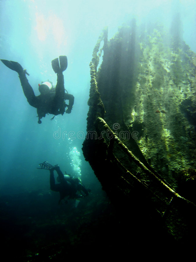 Free Wreck With Sunbeams Stock Photo - 4835740