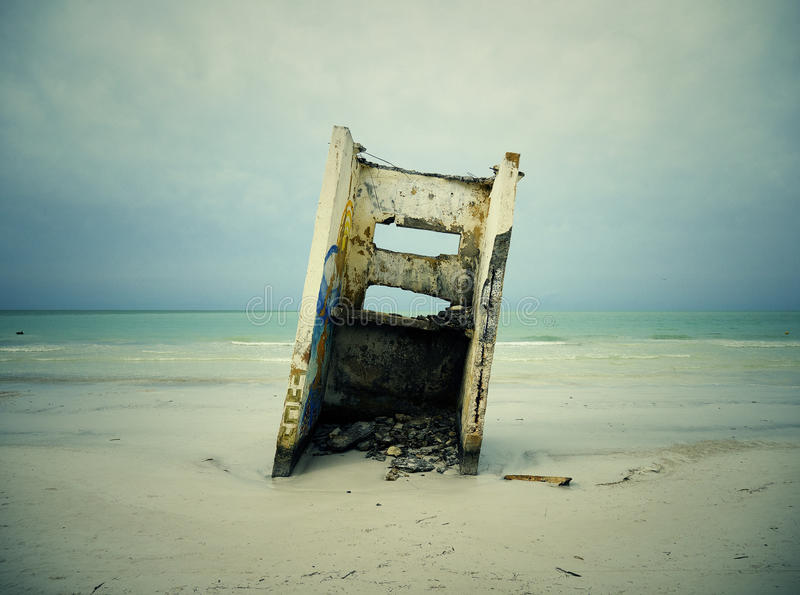 Wreckage On Beach With Signs Of Erosion Free Public Domain Cc0 Image