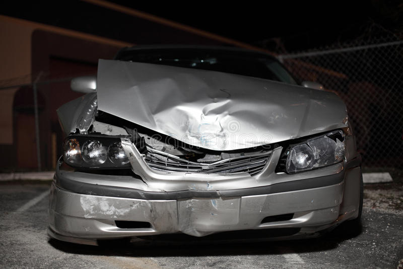 Download Wrecked Automobile stock photo. Image of auto, night - 11600080
