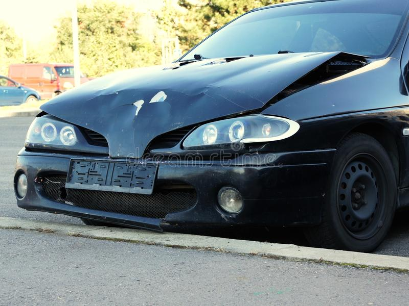 Download Wrecked Car Royalty Free Stock Photo - Image: 21683805