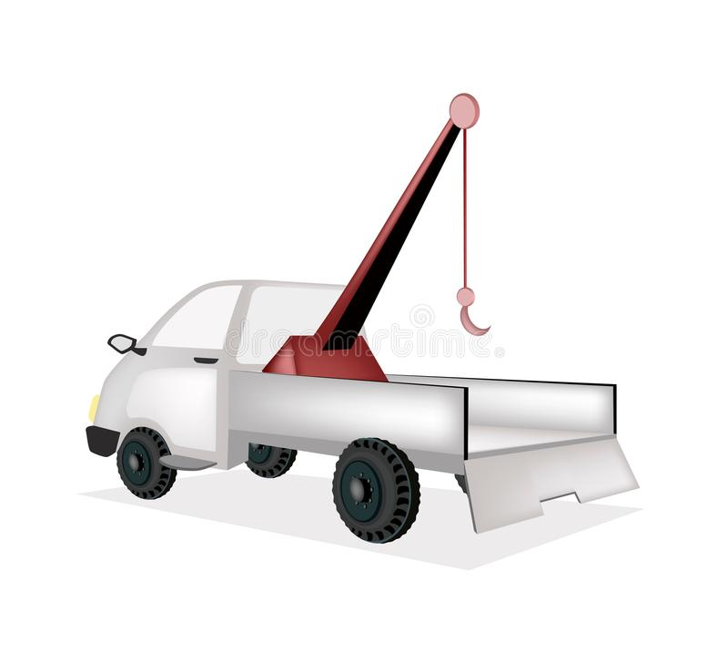 Download A Wrecker Tow Truck On White Background Royalty Free Stock Photography - Image: 35531787