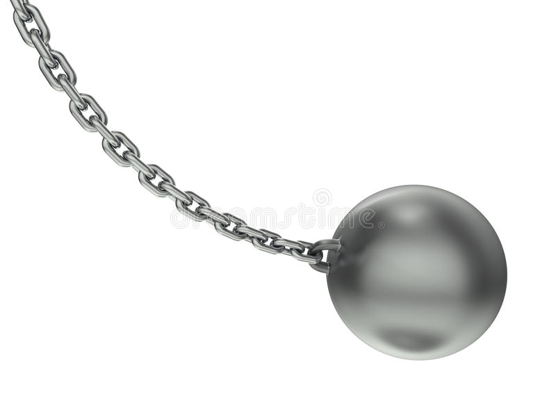 Wrecking Ball Royalty Free Stock Photography
