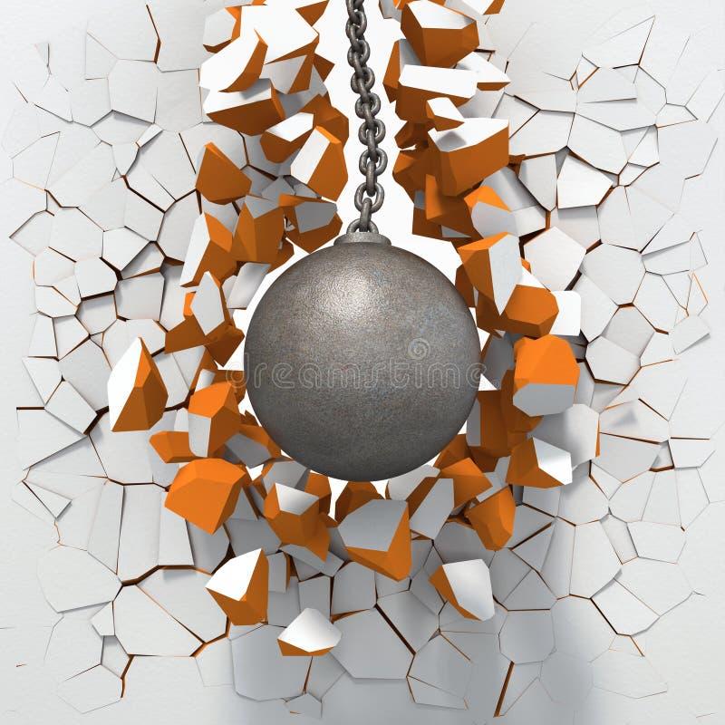 Free Wrecking Ball Royalty Free Stock Image - 27808636