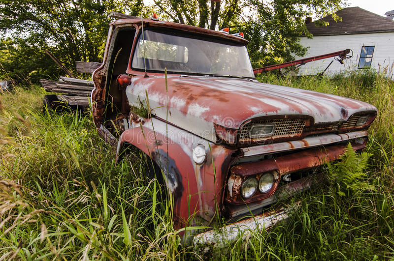 Download Wrecking car stock photo. Image of metal, abandoned, rusted - 33747036