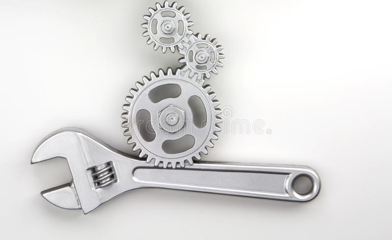 Download Wrench stock image. Image of isolated, fixing, adjustable - 25264977